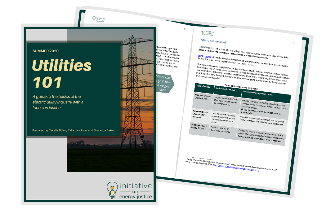 Utilities 101: Guide, Video, and Slide Deck