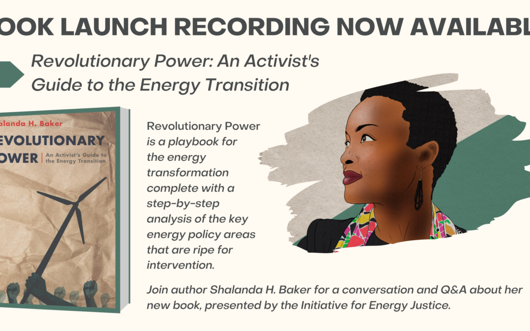 'Revolutionary Power' Book Launch Event, January 19, 2021 (Recording)